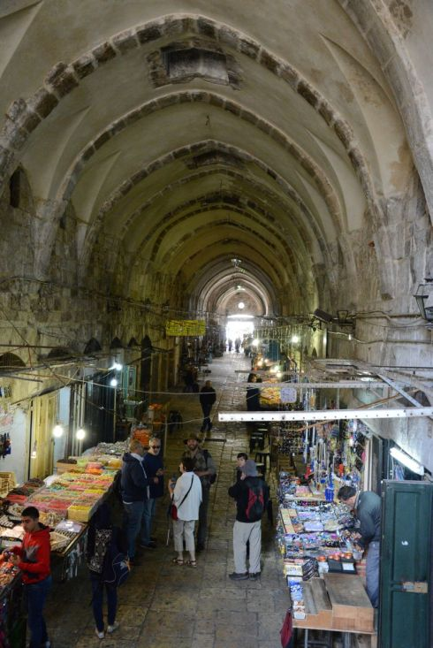 1. The Beginning...Christ's path to the cross in old Jerusalem